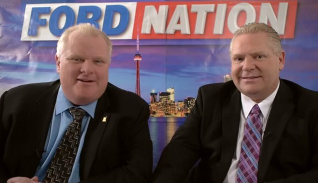 rob doug ford youtube web show