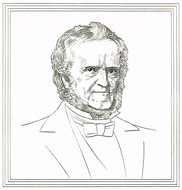 Illustration of William Lyon Mackenzie by Charles Comfort  Toronto's 100 Years 1834 1934 (Toronto: City of Toronto, 1934)