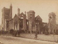 University College, after the fire of 1890. City of Toronto Archives, Fonds 1478, Item 37.
