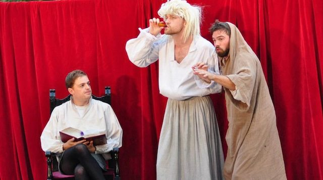 From a previous presentation of The Complete Works of William Shakespeare (Abridged). Photo courtesy of The Classical Theatre Project.