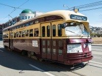 This is an old TTC streetcar. Photo by A. Photographer from the Torontoist Flickr pool.
