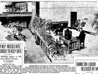 Artist's rendition of the first live concert from the Toronto Star (March 29, 1922).