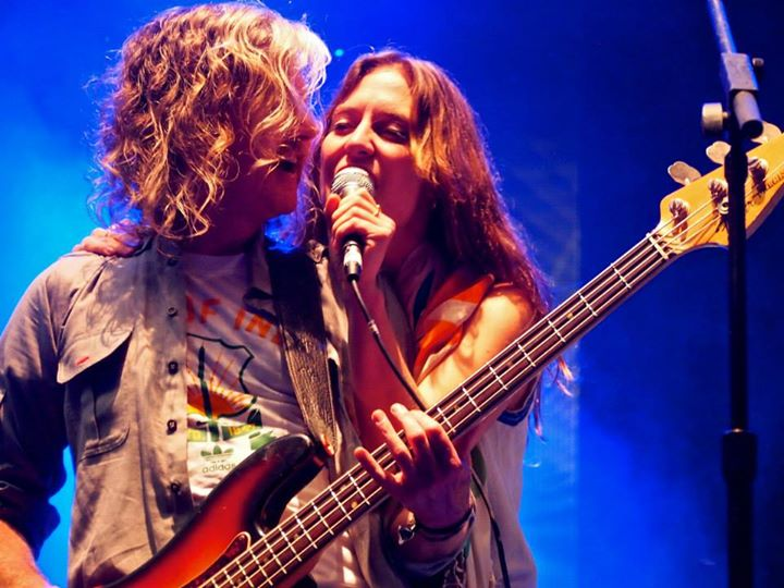 Broken Social Scene (Brendan Canning and Leslie Feist) Field Trip 2013. Photo by Kate Killet.