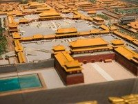 Model of the Forbidden City.