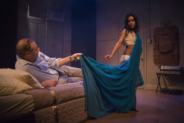 Derek Boyes and Miriam Fernandes in Soliciting Temptation by Erin Shields. Photo by Cylla von Tiedemann.