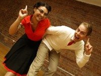 Think you might like Swing dance? Find out at The Bee's Knees Tease. Photo courtesy of Bees' Knees Dance.