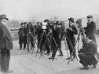 Newsreel and press photographers, Queen's Park, 1911. City of Toronto Archives, Fonds 1244, Item 8012.