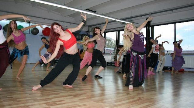 Learn to dance with the founder of the Arabesque Bellydance Academy. Photo by Nina Stepić Čupić, courtesy of Arabesque Academy.
