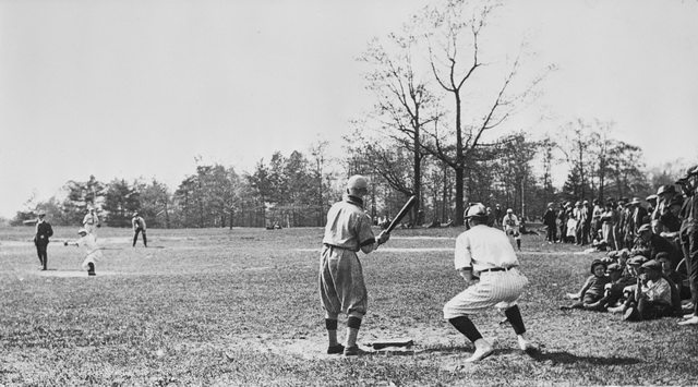 A Saturday Game in High Park, July 31, 1922  Photo by John Boyd from the Toronto Public Library Digital Archive