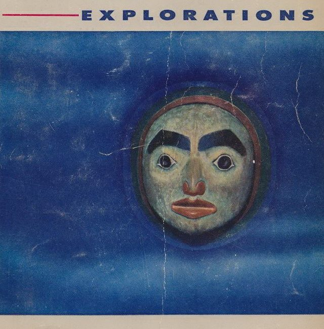 Detail from cover of Explorations 3 (August 1954)