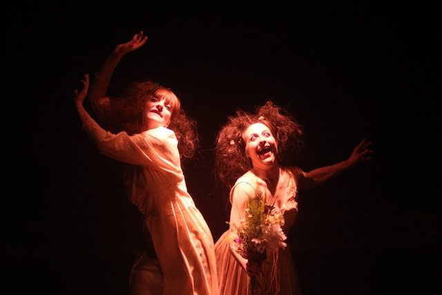 Nina Gilmour and Danya Buonastella in Death Married My Daughter  Photo by Johnny Hockin
