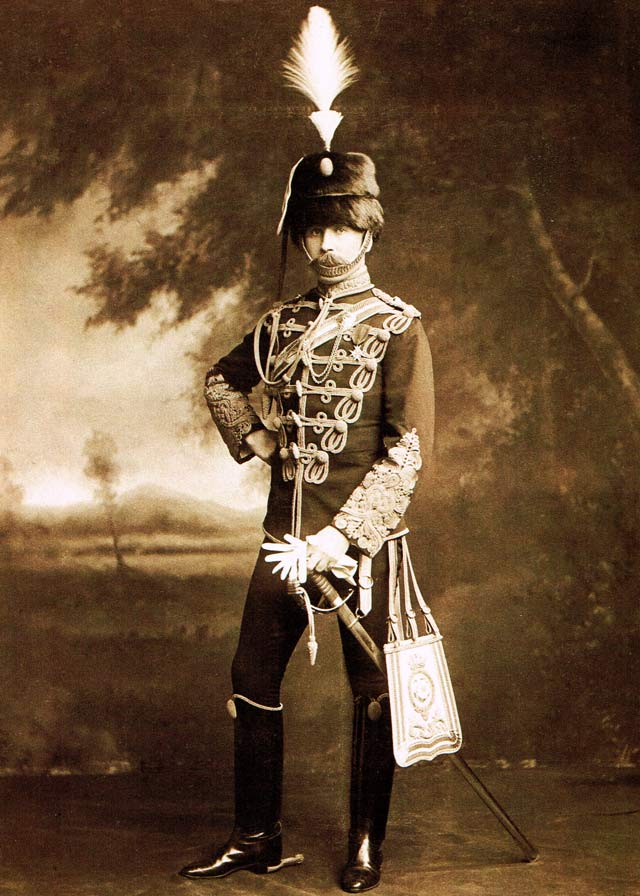 John Bayne Maclean in full dress uniform of the Duke of York's Royal Canadian Hussars  Maclean Hunter at One Hundred (Toronto: Maclean Hunter, 1987)