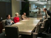 "The all-important ""people in a boardroom having a meeting"" scene, crucial to AMC dramas. Next season of THE WALKING DEAD will be all-boardrooms."