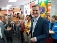 Joe Cressy is the NDP candidate in Monday's Trinity-Spadina byelection. Photo taken from www.joecressy.ca.