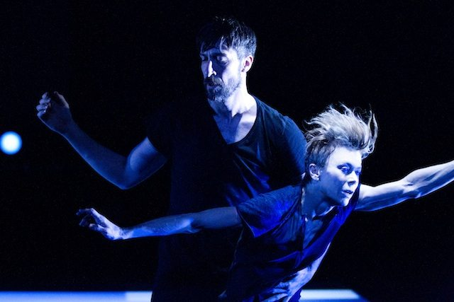 Frederic Tavernini and Louise Lecavalier in So Blue  Photo by Andre Cornellier
