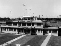 Undated photo of the Toronto Island Airport terminal. Image courtesy of the Toronto Port Authority.
