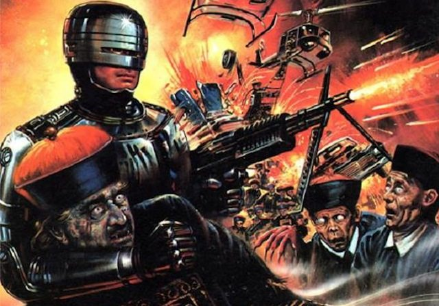 Ever wondered what a vampire-infused RoboCop ripoff would look like? Then come out to Video Vengeance #8! Image courtesy of Modern Superior/Edde Video.