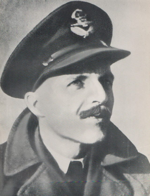 Portrait of Flight Lieutenant David E  Hornell  From Kenneth  Hare Scott, For Valour (Peter Garnett, 1949)