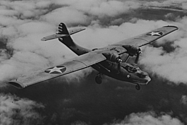 A two engine Catalina (PBY) in use by the U S  Navy, April 1943  From the Library of Congress (LC USE6  D 009931)