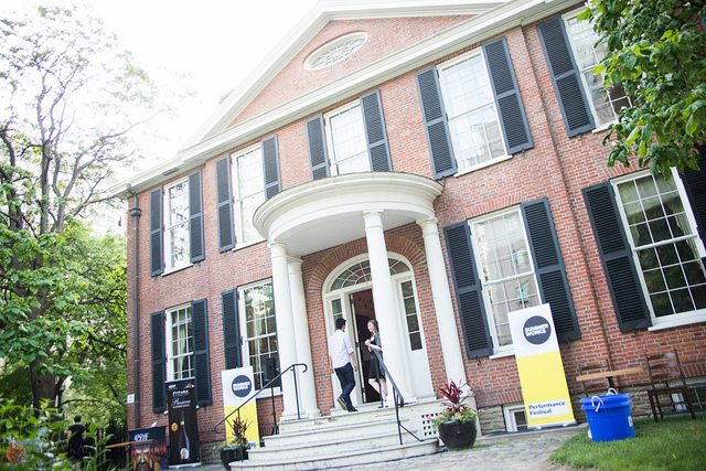 The SummerWorks Festival returns to Campbell House again this year for the festival launch party. Photo by Dahlia Katz.