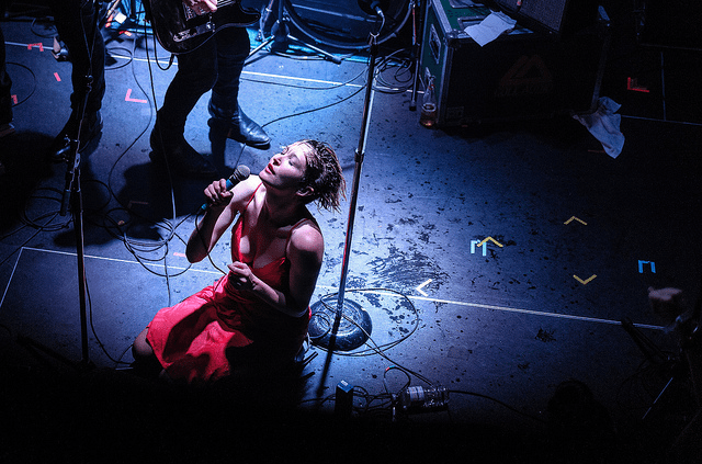 July Talk. Photo by David Cyr, from the Torontoist Flickr pool.