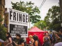 The 2014 Toronto Fringe Festival hit an all-time high in ticket sales. Photo by Brian Batista Bettencourt.
