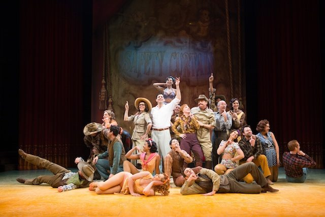 Members of the company in Donna Feore's Crazy for You  Photo by Cylla von Tiedemann