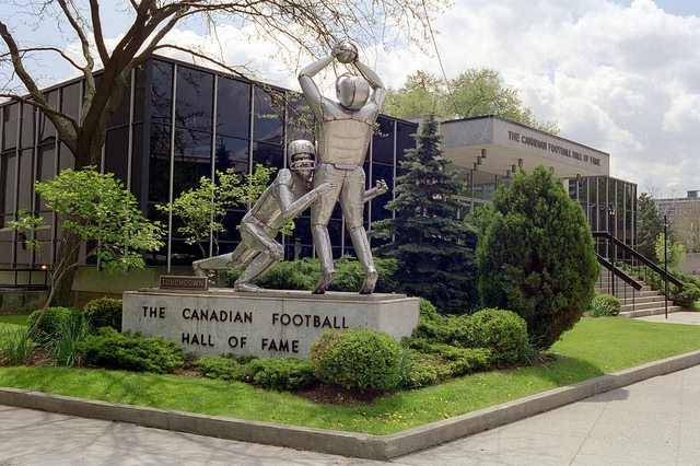 Photo of Canadian Football Hall of Fame, Hamilton, by Peter Macdonald via Creative Commons on Flickr