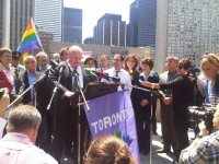 "Photo by HiMY SYeD from the Torontoist Flickr Pool."" width=""460"" height=""345"" /> Mayor Rob Ford proclaims May 17, 2012 to be the Day Against Homophobia and Transphobia in Toronto. Photo by HiMY SYeD from the Torontoist Flickr Pool"