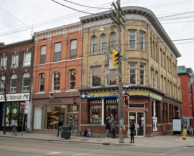 Queen and Portland, part of the Queen West Heritage Conservation District  Photo by William Kimber from the Torontoist Flickr pool