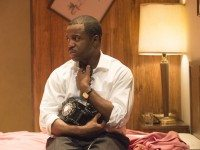 Kevin Hanchard stars as Martin Luther King Jr. in The Mountaintop.  Photo by David Cooper.