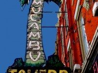 El Mocambo sign, March 23, 2010. Photo by Rick McGrath from the Torontoist Flick Pool.