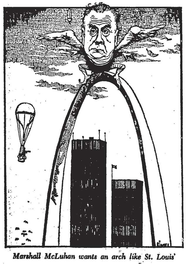Illustration by Randy Jones, the Toronto Star, January 2, 1971