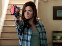 We promise that at some point in the show she shoots a baddie with a real gun.