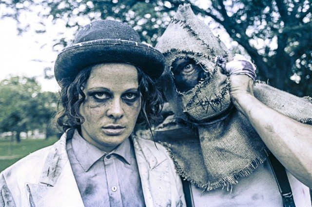 Claire Armstrong and Tim Walker are fae folk in The Skriker  Photo by Zaiden
