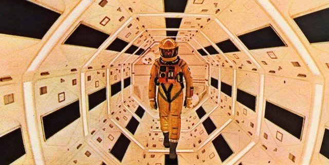 Go totally futuristic and catch a screening of 2001: A Space Odyssey as we move forward in time  Image courtesy of MGM