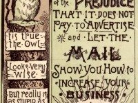Advertisement for the Mail, 1890s. Toronto Public Library.