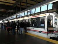 Rapid transit at Scarborough Town Centre. Photo by PLTam, from the Torontoist Flickr pool.