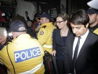 Ghomeshi, appearing at the College Park court in November 2014.