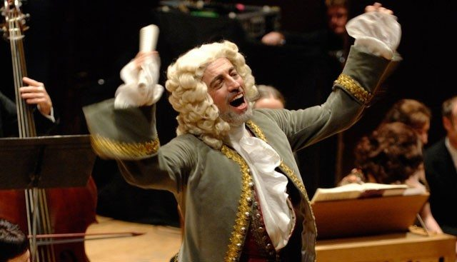 Handel conducts the Sing Along Messiah