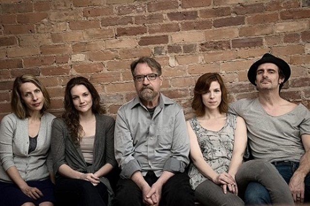 Rosa Labordé's True starred (from left to right) Ingrid Rae Doucet, Shannon Taylor, Layne Coleman, Sabrina Grdevich, and Scott McCord  Photo courtesy of Criminal Theatre