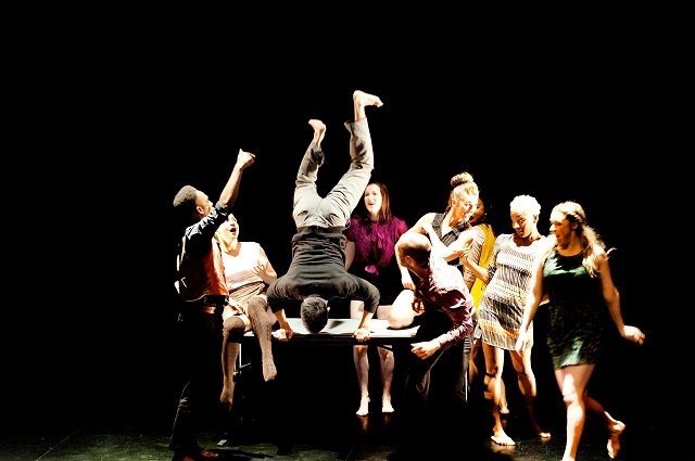 The cast of Jasmyn Fyffe Dance's Pulse  (Photo by Jamie Johnston )