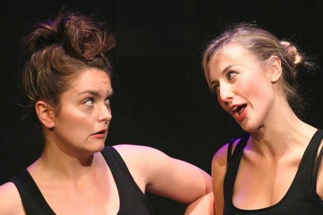 Briana Templeton, left, and Gwynne Phillips in Unbridled & Unstable  Photo courtesy of the Toronto Fringe