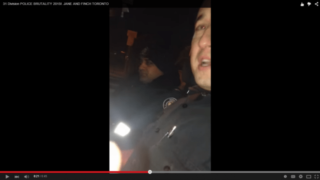 arrest video screenshot