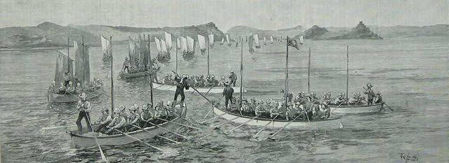 Illustration of the Nile Expedition of 1884 1885 from The Graphic (November 29, 1894)