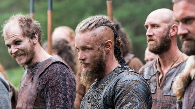 You just know that  all these characters from Vikings think that Jon Snow is a wimp