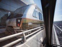 Riding the Union-Pearson Express