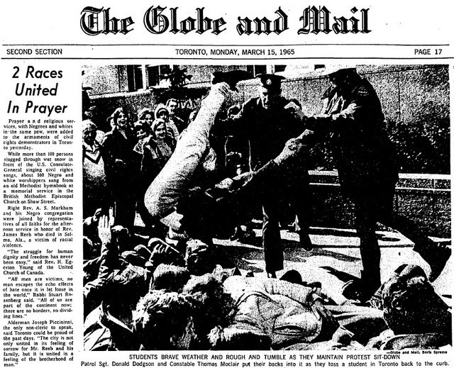 Globe and Mail (March 15, 1965)