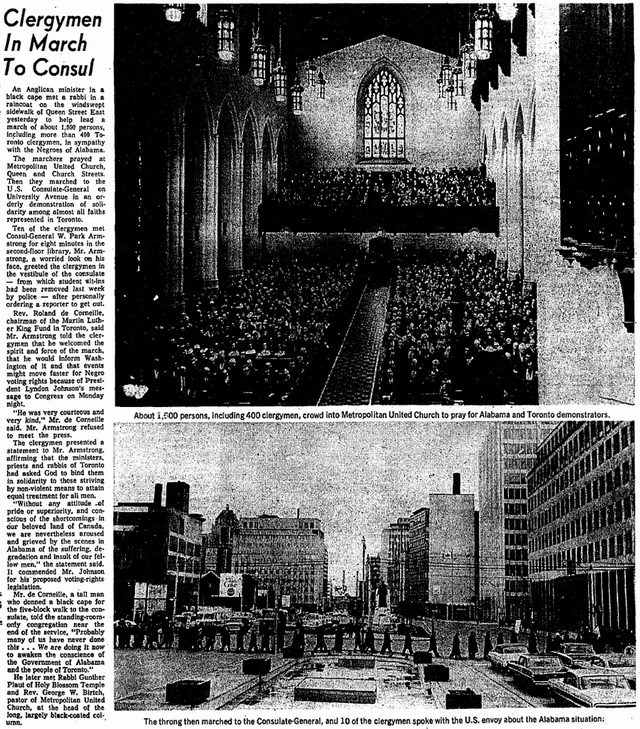 Globe and Mail (March 17, 1965)