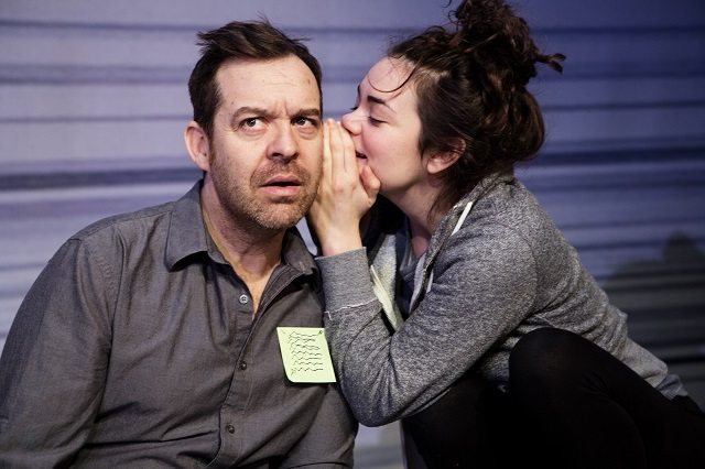 Paul Braunstein and Haley McGee portray a physicist and his daughter in Hannah Moscovitch's Infinity at Tarragon Theatre  Photo by Cylla von Tiedeman